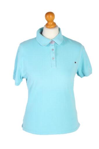 Tommy Hilfiger Polo Shirt 90s Retro Turquise XL