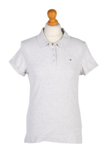 Tommy Hilfiger Polo Shirt 90s Retro Beige L