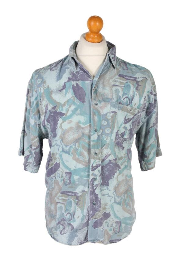 Vintage Trend Collection Designer Hawaiian Shirt L Multi SH3370-0