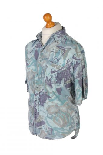 Vintage Trend Collection Designer Hawaiian Shirt L Multi SH3370-96716