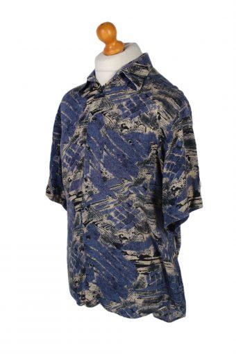Vintage Club Damingo Casual Wear Hawaiian Shirt L Blue SH3373-96728