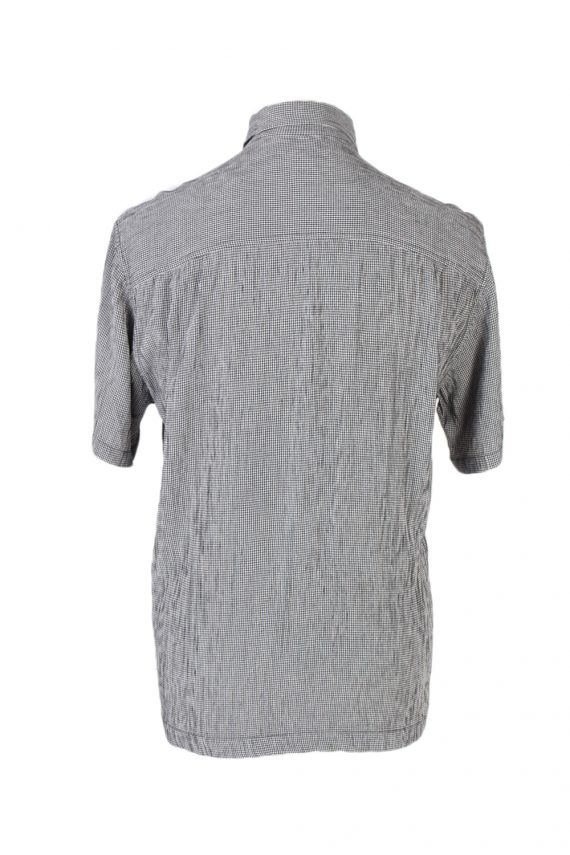 Vintage Jenes New York Festival Hawaiian Shirt L Grey SH3375-96737