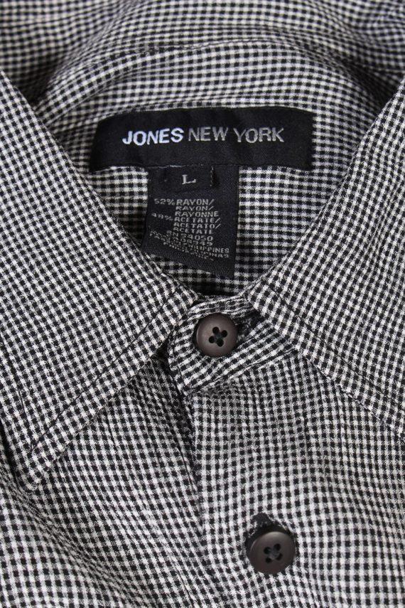 Vintage Jenes New York Festival Hawaiian Shirt L Grey SH3375-96738