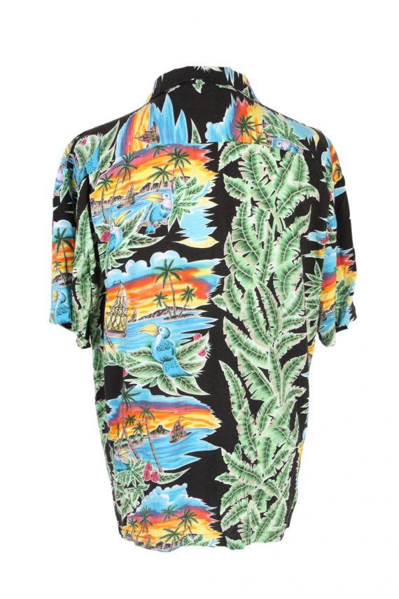 Vintage Michelle's Fashion Island Printed Hawaiian Shirt L Multi SH3399-97032