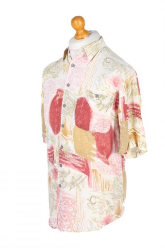 Vintage Canda Floral Printed Hawaiian Shirt M Multi SH3405-97055