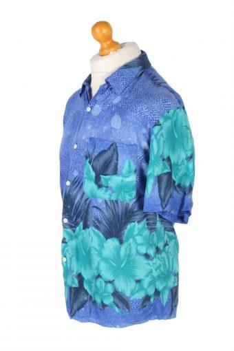 Vintage Coco Wave Floral Printed Hawaiian Shirt M Multi SH3412-97083