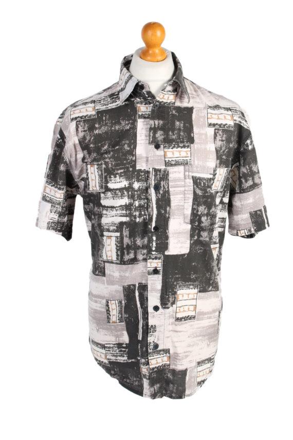 Vintage Jacques Lorant Fashion Designer Hawaiian Shirt M/L Multi SH3429-0