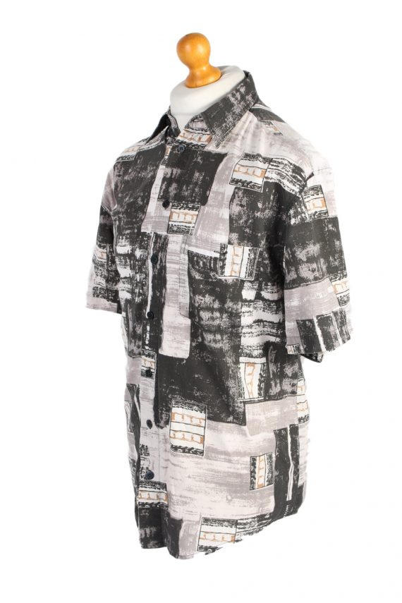 Vintage Jacques Lorant Fashion Designer Hawaiian Shirt M/L Multi SH3429-97508