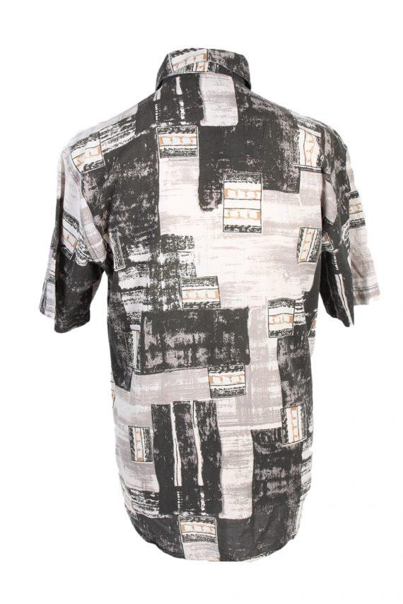 Vintage Jacques Lorant Fashion Designer Hawaiian Shirt M/L Multi SH3429-97509