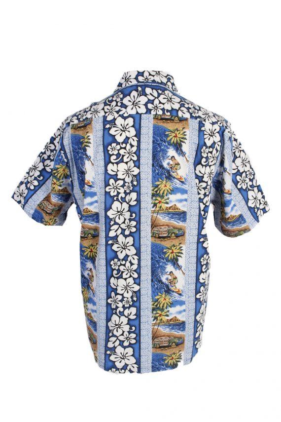 Vintage Hawaiian Shirt Reserve Island Printed XL Multi SH3440-97959