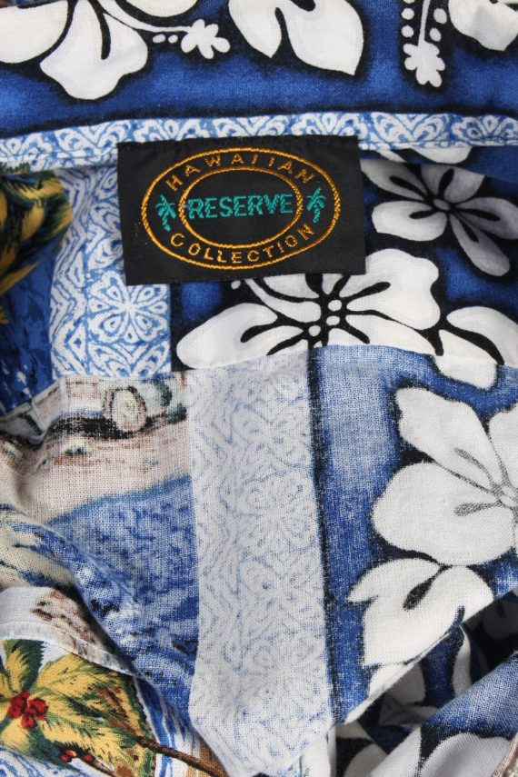Vintage Hawaiian Shirt Reserve Island Printed XL Multi SH3440-97960
