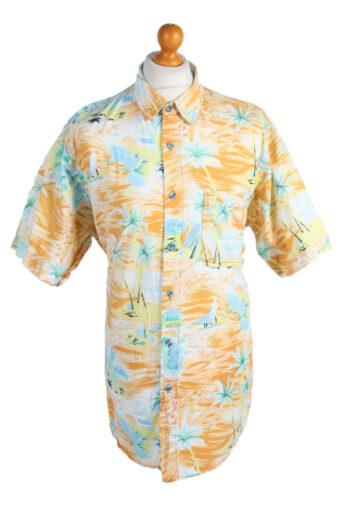 Hawaiian Shirt 90s Retro Summer Aloha Multi XL