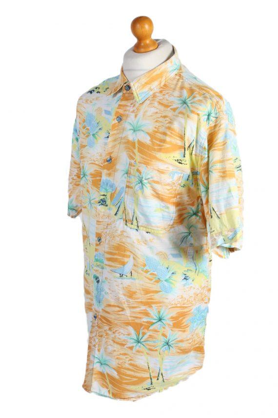 Vintage Hawaiian Shirt Via Cortesa Island Printed XL Multi SH3444-97974