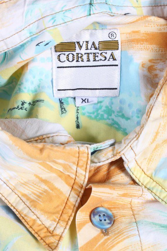 Vintage Hawaiian Shirt Via Cortesa Island Printed XL Multi SH3444-97976