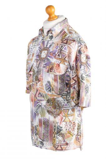 Vintage Hawaiian Shirt McKay Crazy Printed M Multi SH3455-98018