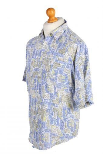 Vintage Hawaiian Shirt Soutwest Crazy Printed L Multi SH3463-98050