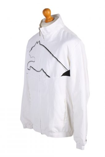 Vintage Puma Tracksuits Top Shell Sportlife Style M White -SW2060-98424