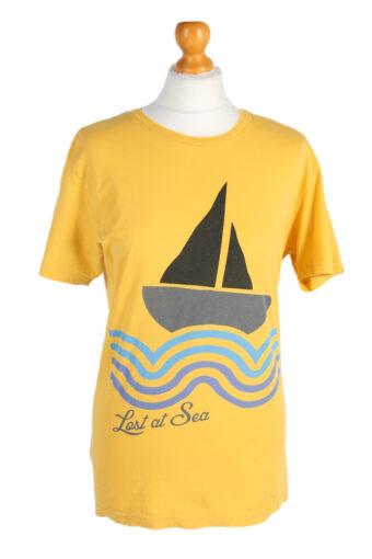 Jack&Jones T-Shirt Denim Lost at Sea Yellow L