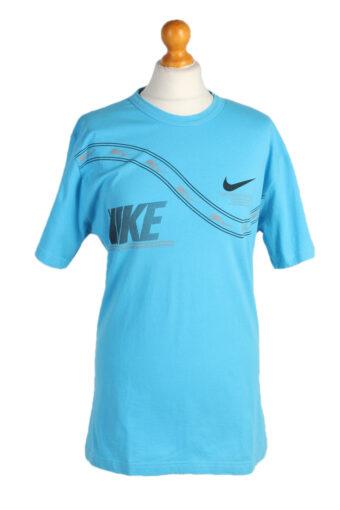 Nike T-Shirt 90s Retro Turquoise L