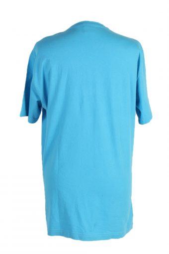 Vintage Nike T-Shirt Sponsor Official L Turquoise TS313-97934