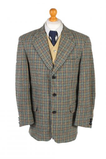 Harris Tweed Blazer Jacket Westbury Windowpane L