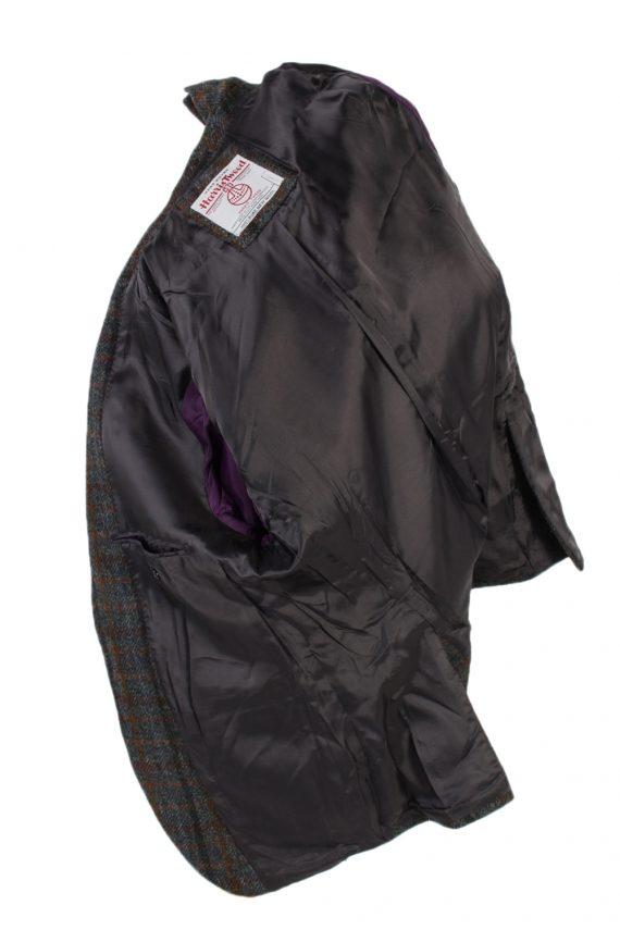 Vintage Harris Tweed Dress Master Window Pane Patched Blazer Jacket Chest 43 Multi HT2454-99669
