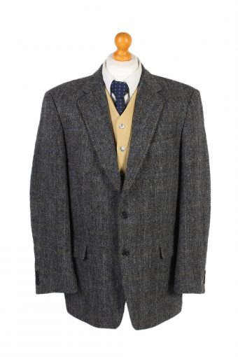Harris Tweed Blazer Jacket Atwardson Windowpane L
