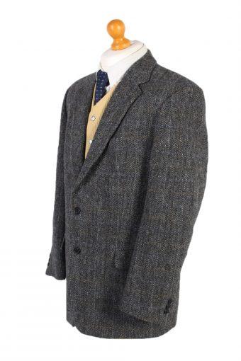 Vintage Harris Tweed Atwardson Window Pane Blazer Jacket Chest 45 Multi HT2471-100332