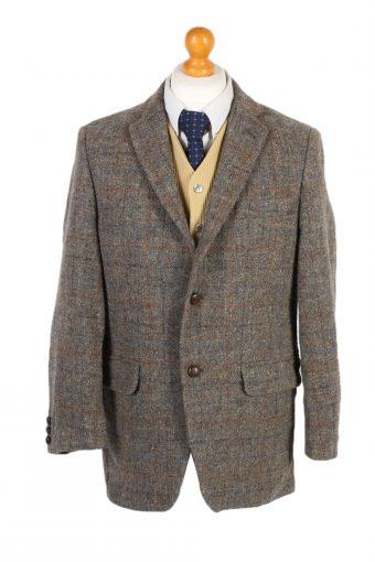 Harris Tweed Blazer Jacket Walbusch Windowpane M