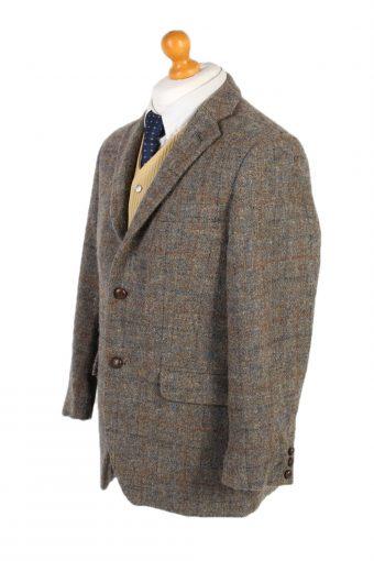 Vintage Harris Tweed Walbusch Window Pane Blazer Jacket Chest 42 Multi HT2479-100372