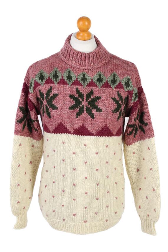 Vintage Icelandic Jumper Unbranded Pullover S Multi -IL1523-0