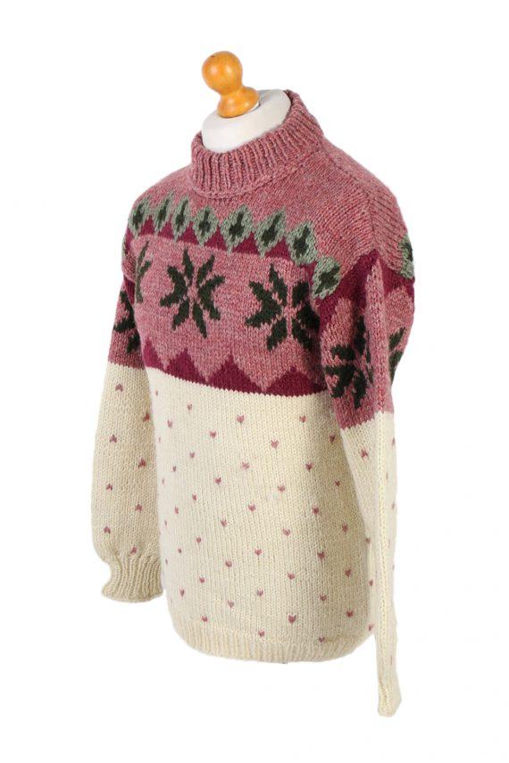 Vintage Icelandic Jumper Unbranded Pullover S Multi -IL1523-99721