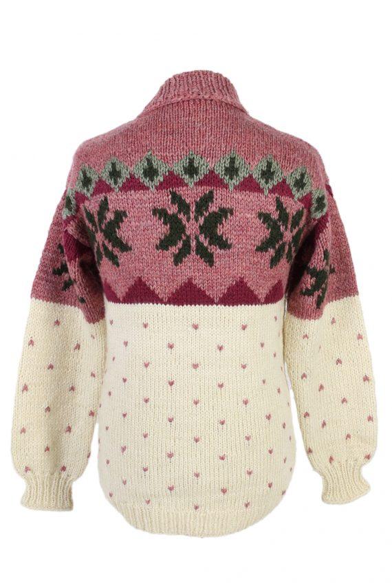 Vintage Icelandic Jumper Unbranded Pullover S Multi -IL1523-99722