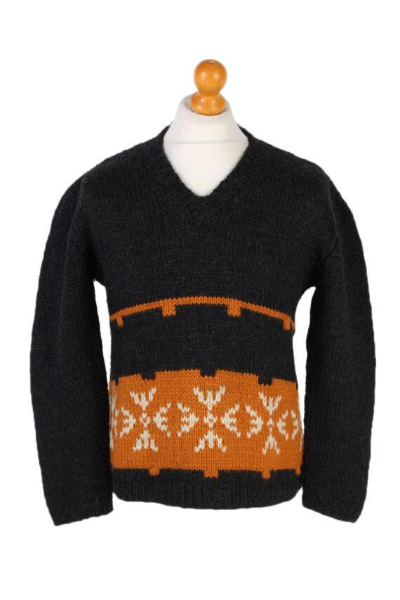 Vintage Icelandic Jumper Classic Sweater S/M Multi -IL1542-0