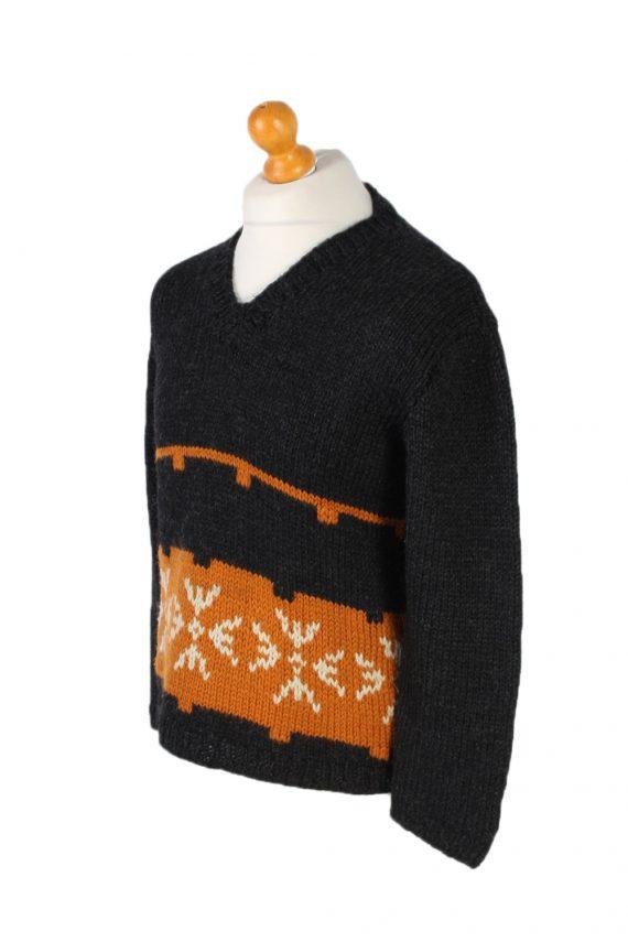Vintage Icelandic Jumper Classic Sweater S/M Multi -IL1542-99877