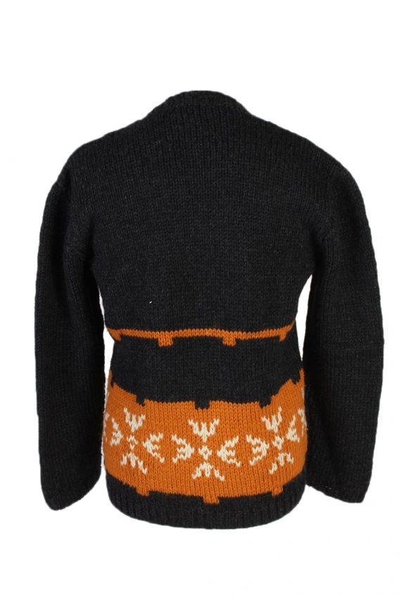 Vintage Icelandic Jumper Classic Sweater S/M Multi -IL1542-99878