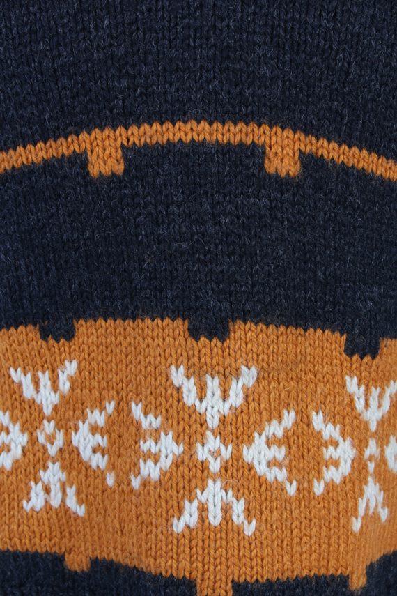 Vintage Icelandic Jumper Classic Sweater S/M Multi -IL1542-99879