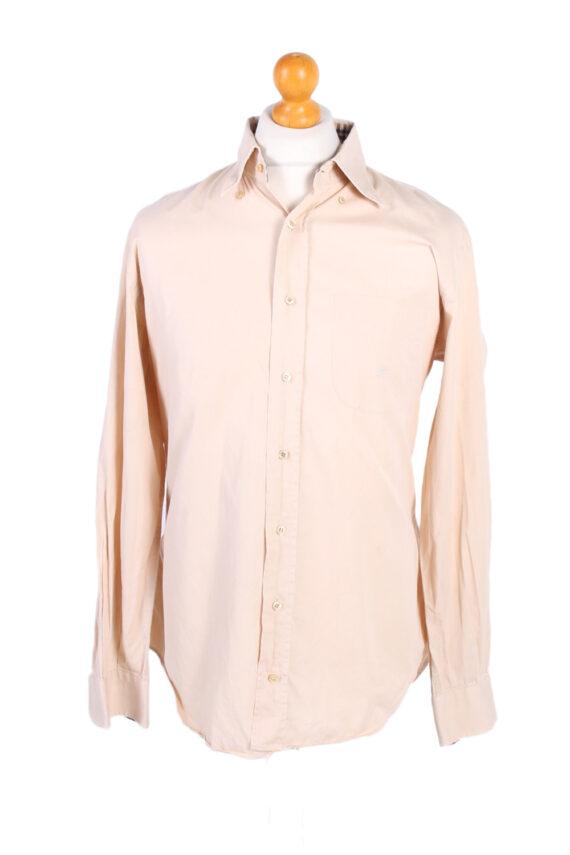 Vintage Burberry London Smart Shirt L Beige SH3467-0
