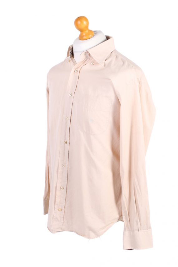 Vintage Burberry London Smart Shirt L Beige SH3467-100017