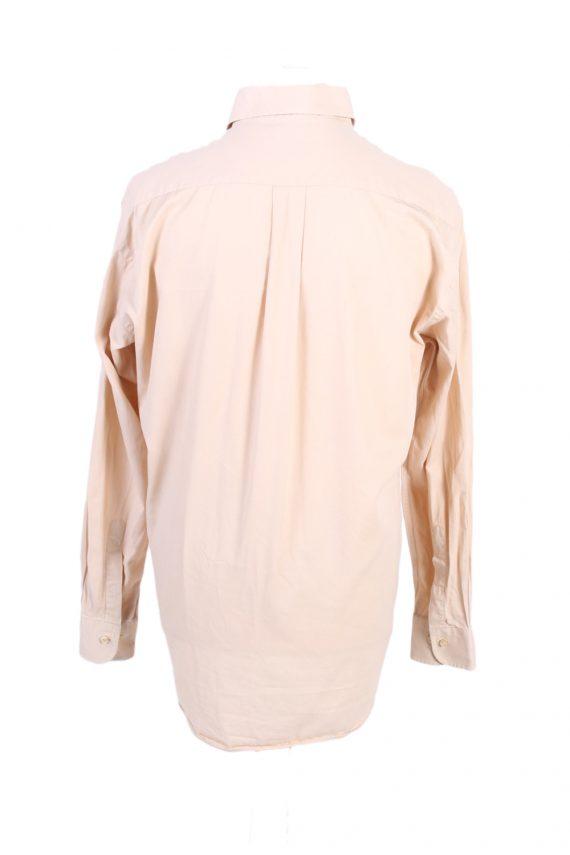 Vintage Burberry London Smart Shirt L Beige SH3467-100018