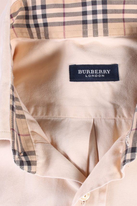 Vintage Burberry London Smart Shirt L Beige SH3467-100019
