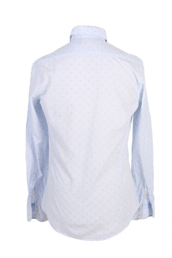 Vintage Massimo Dutti Tessuto Italiano Shirt S Blue SH3476-100054