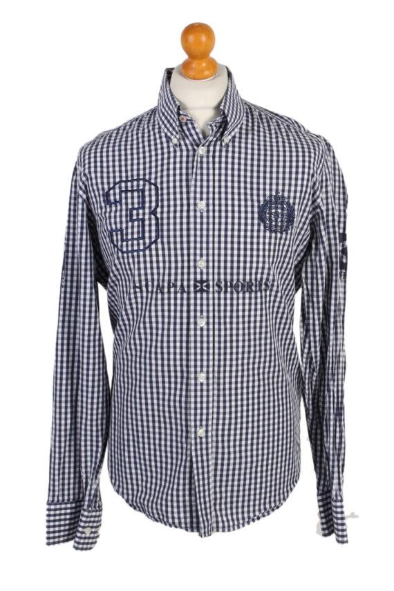 Vintage Scapa Sports 3 Fashion Design Shirt L Multi SH3478-0