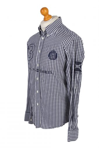 Vintage Scapa Sports 3 Fashion Design Shirt L Multi SH3478-100061
