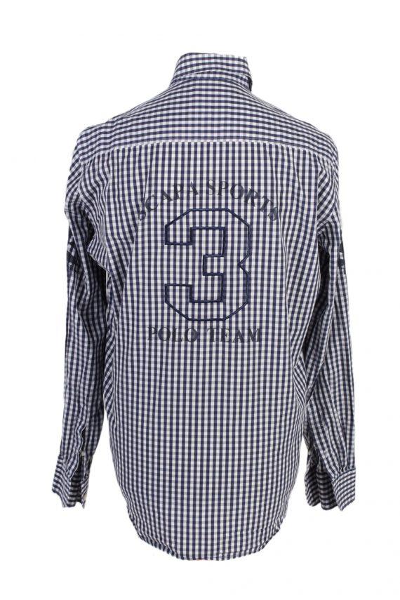 Vintage Scapa Sports 3 Fashion Design Shirt L Multi SH3478-100062
