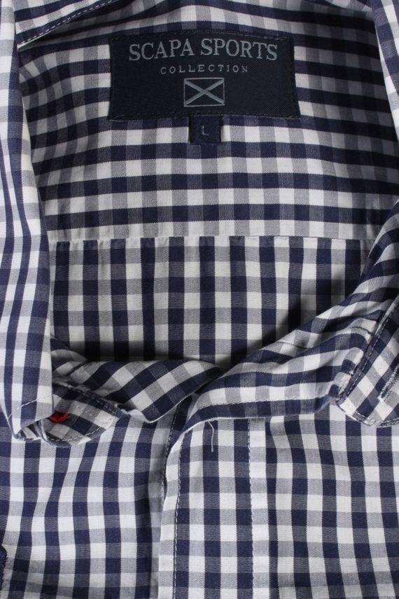 Vintage Scapa Sports 3 Fashion Design Shirt L Multi SH3478-100063