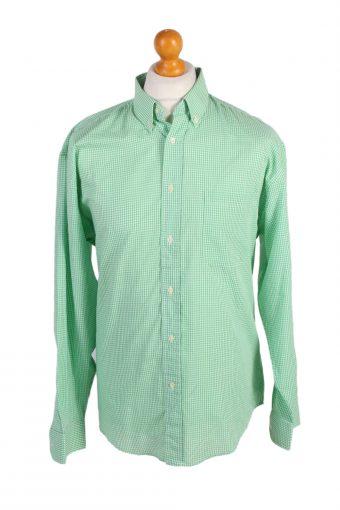 90s Retro Shirt Long Sleeve Green XXL