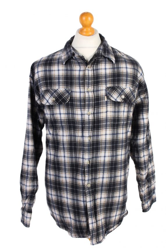 Vintage Flannel Lumberjack Check Shirt Tartan CLC Classics XL Multi SH3508-0