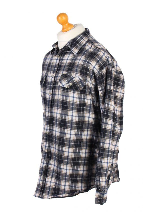 Vintage Flannel Lumberjack Check Shirt Tartan CLC Classics XL Multi SH3508-100181