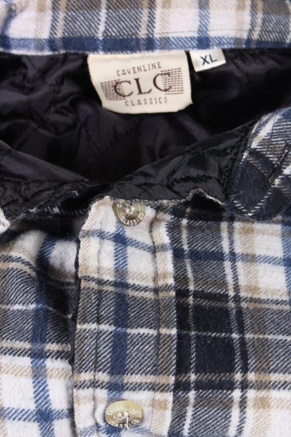 Vintage Flannel Lumberjack Check Shirt Tartan CLC Classics XL Multi SH3508-100183